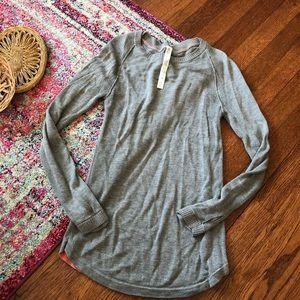 Lululemon Gray thumb hole sweater